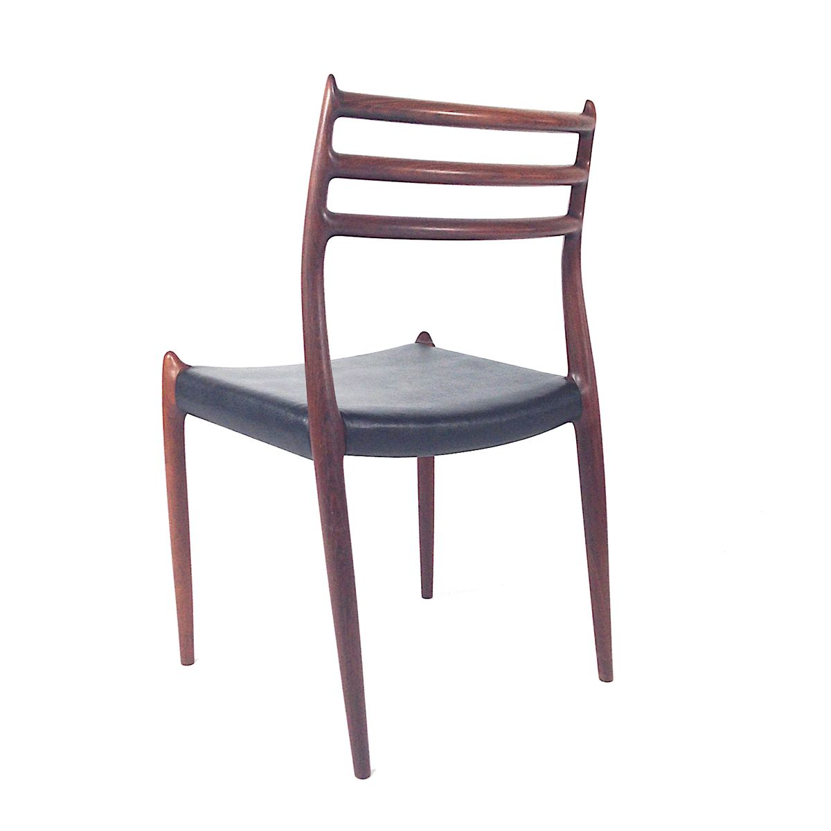 Vintage Moller Dining Chairs ~ Model rosewood dining chairs by niels o moller