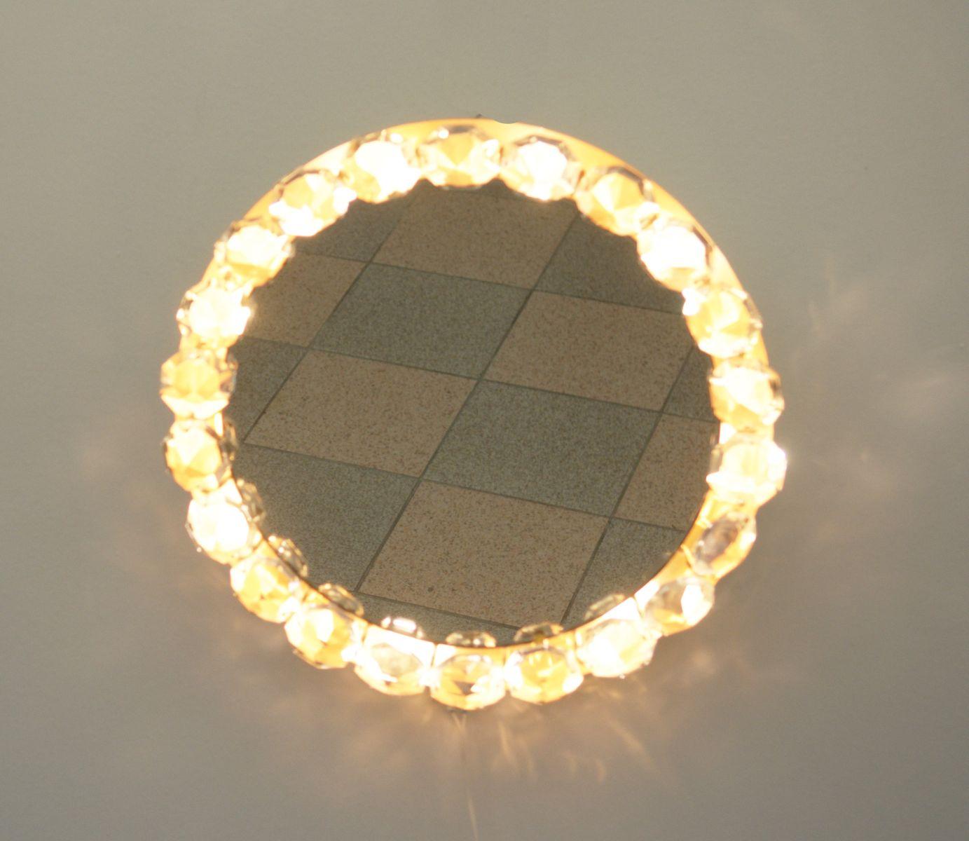 beleuchteter spiegel von bakalowits s hne bei pamono kaufen. Black Bedroom Furniture Sets. Home Design Ideas