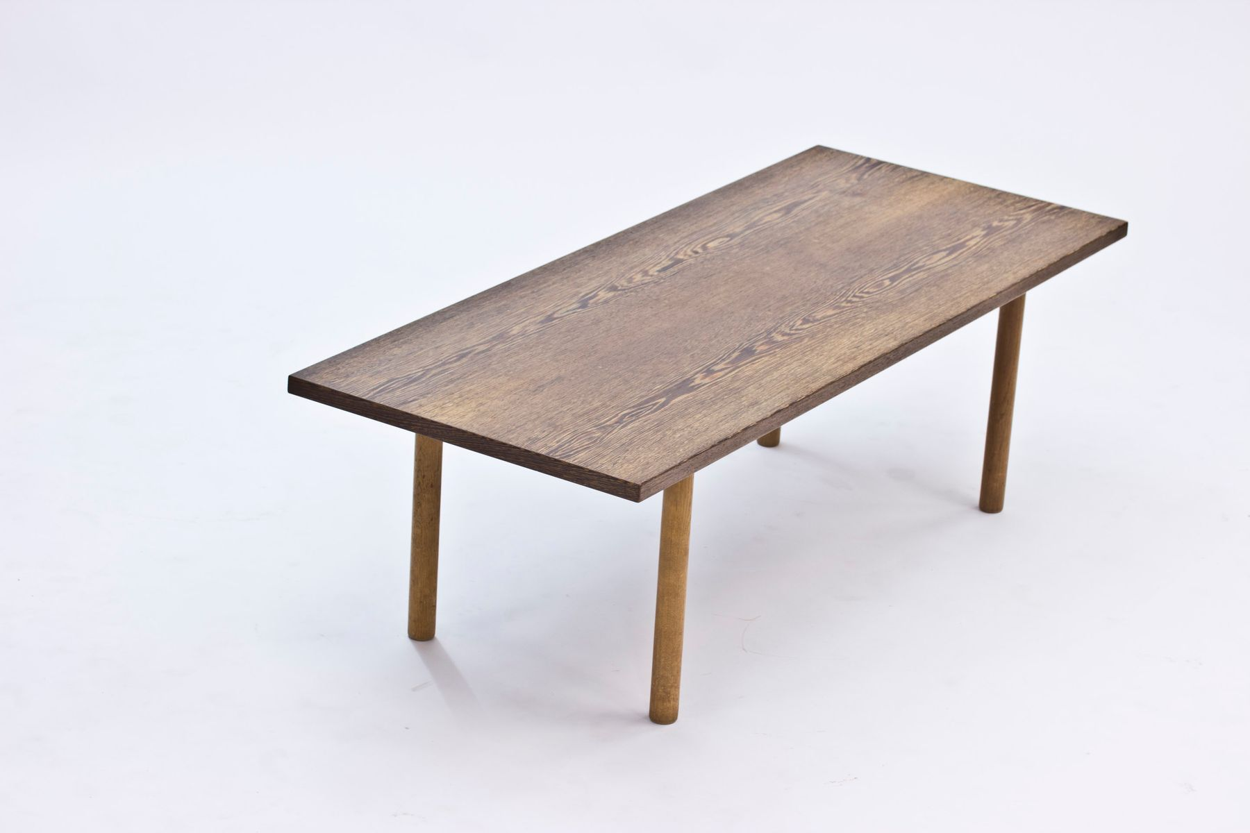 Wenge Coffee Table by Hans J Wegner for Andreas Tuck 1960s for