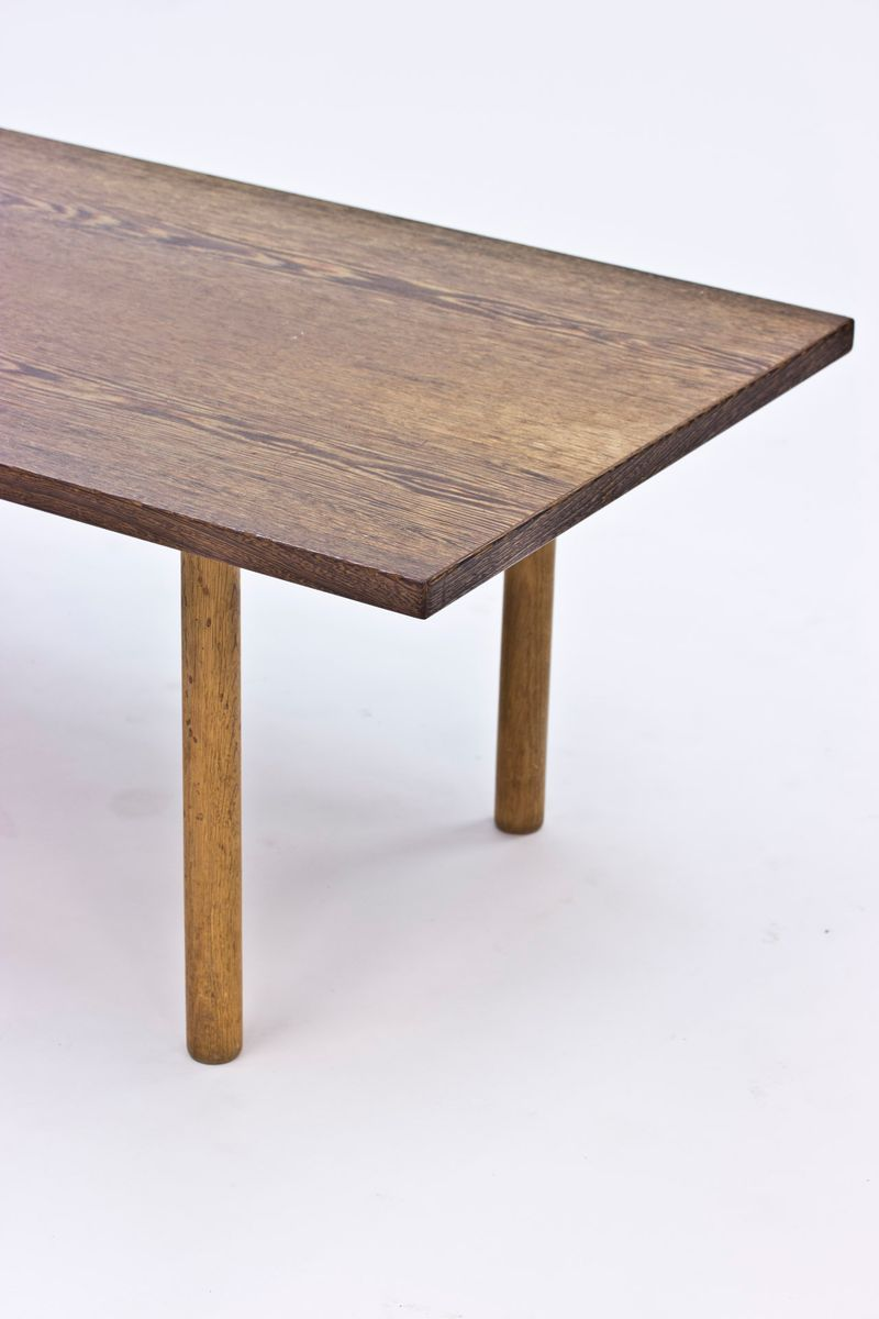 Wenge Coffee Table By Hans J Wegner For Andreas Tuck 1960s For Sale At Pamono