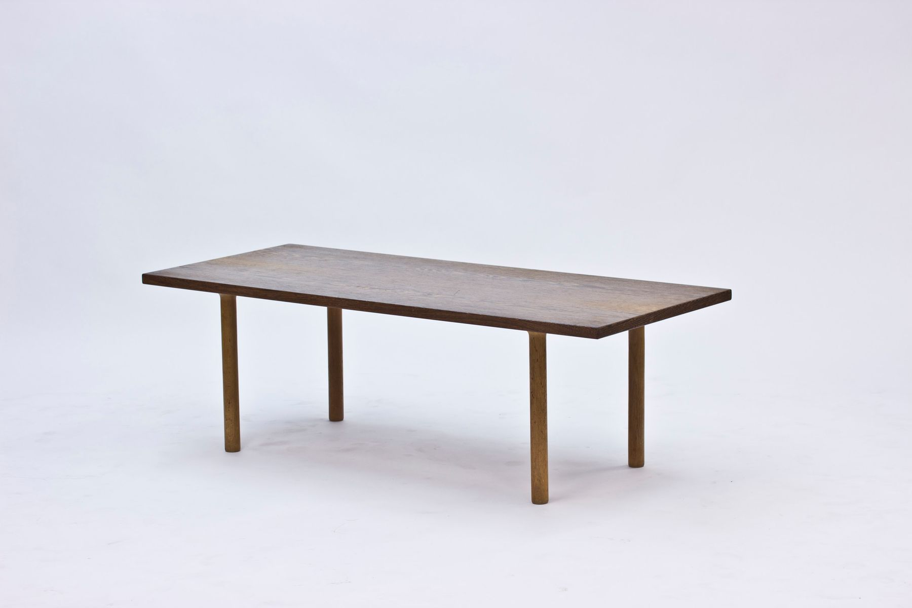 Wenge coffee table by hans j wegner for andreas tuck - Table wenge ikea ...