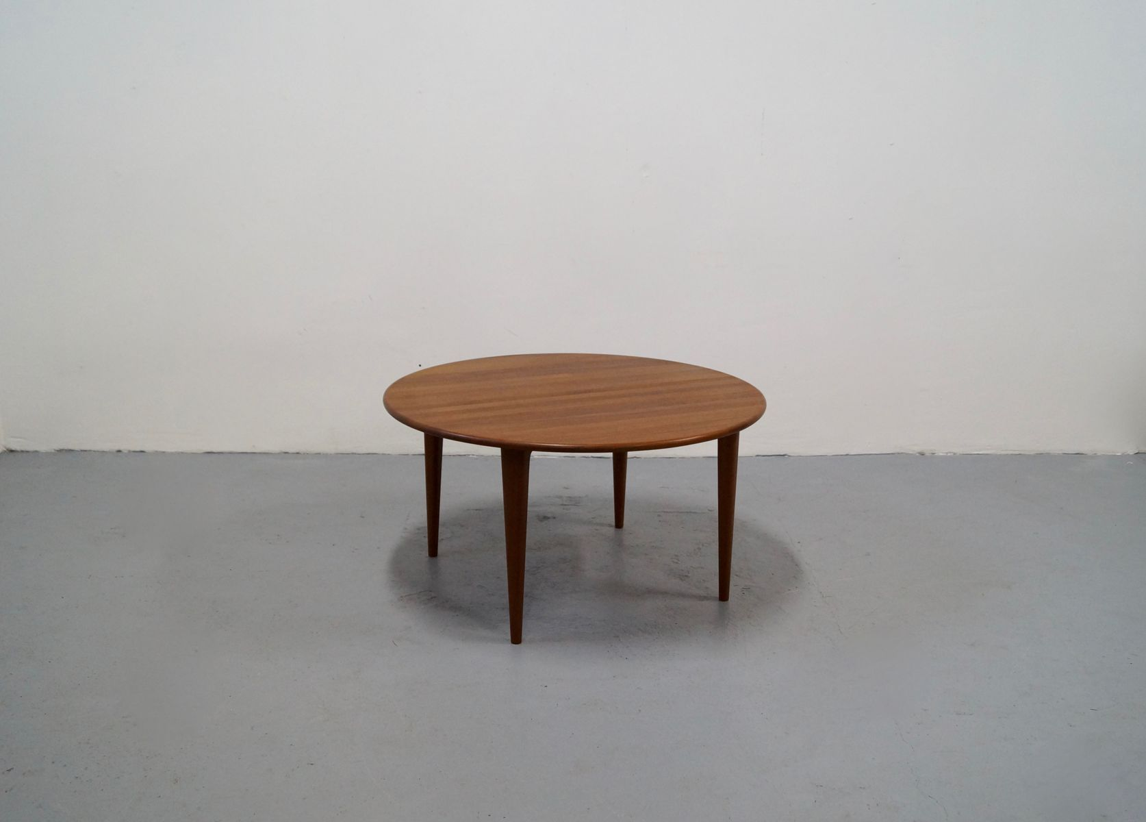 Mid Century Solid Teak Coffee Table 1960s For Sale At Pamono