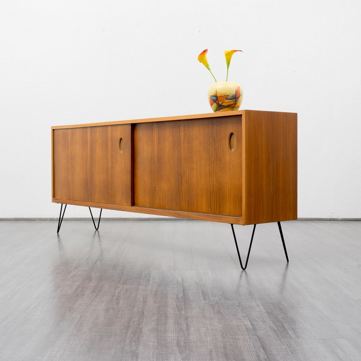 Walnut sideboard by georg satink for wk m bel 1950s for for Sideboard 70 cm