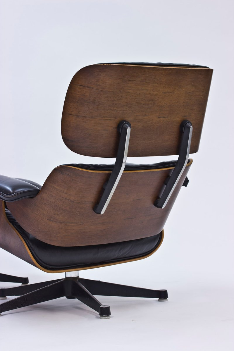 Lounge chair and ottoman by charles and ray eames for for Charles eames lounge chair nachbildung