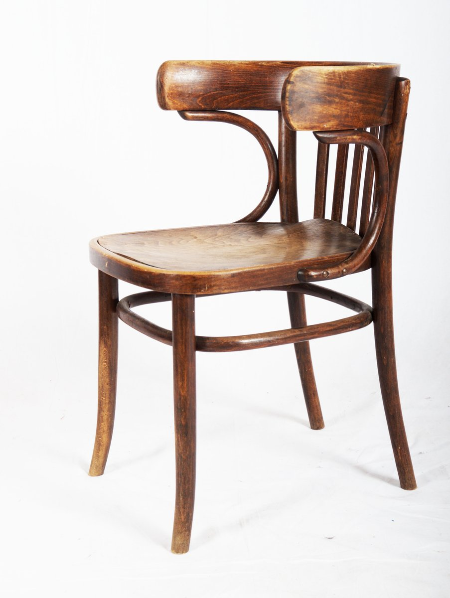 bistro dining chair by michael thonet 1920s for sale at pamono. Black Bedroom Furniture Sets. Home Design Ideas