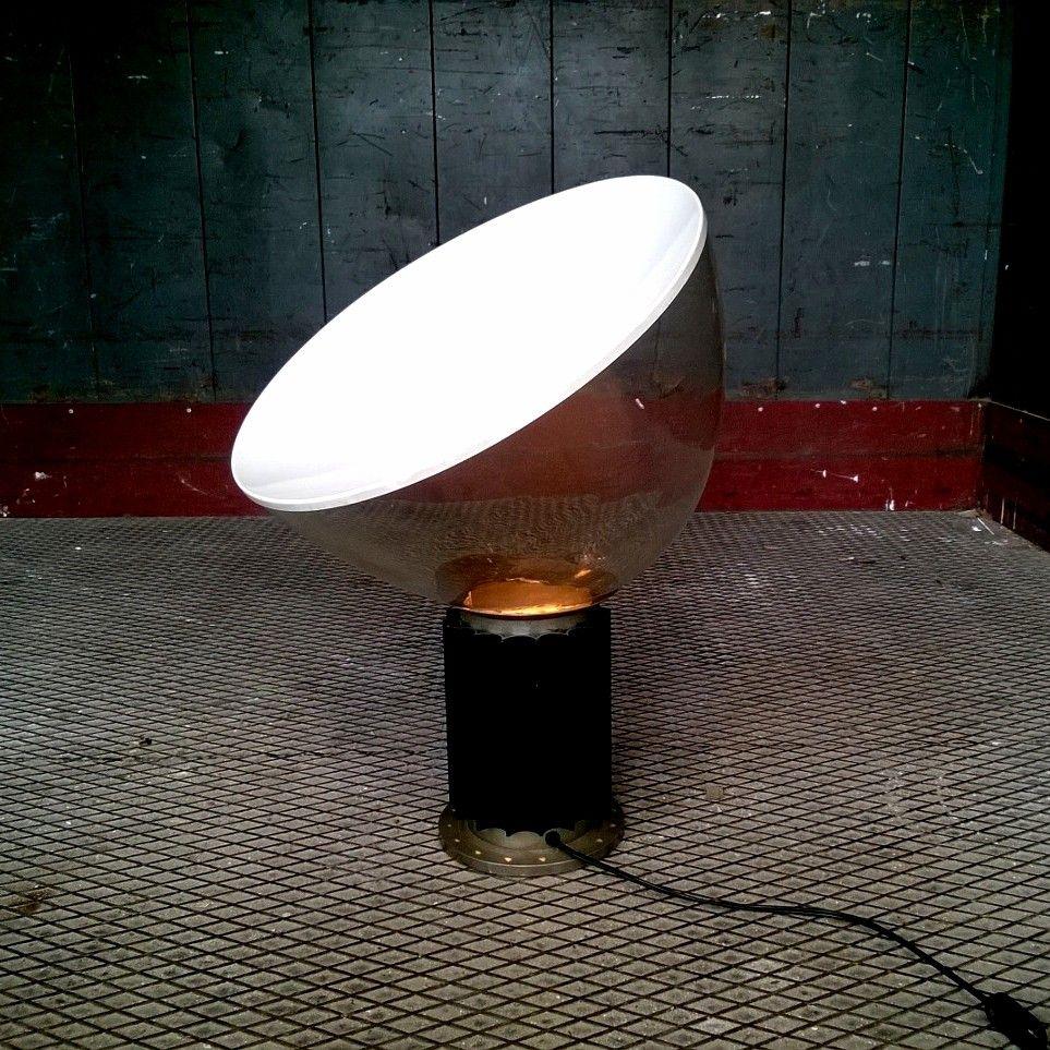 Taccia lamp by archille pier giacomo castiglioni for for Taccia flos