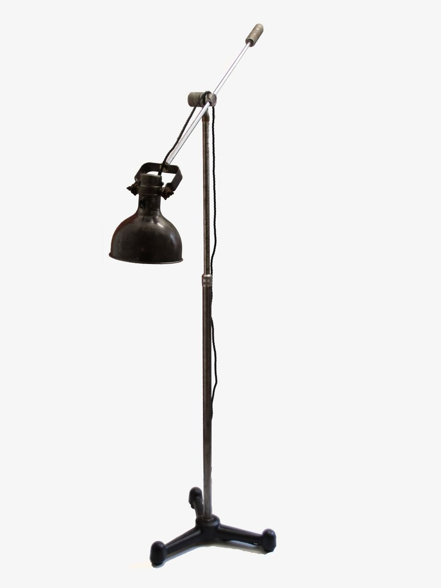French industrial floor lamp 1920s for sale at pamono for 1920 floor lamp