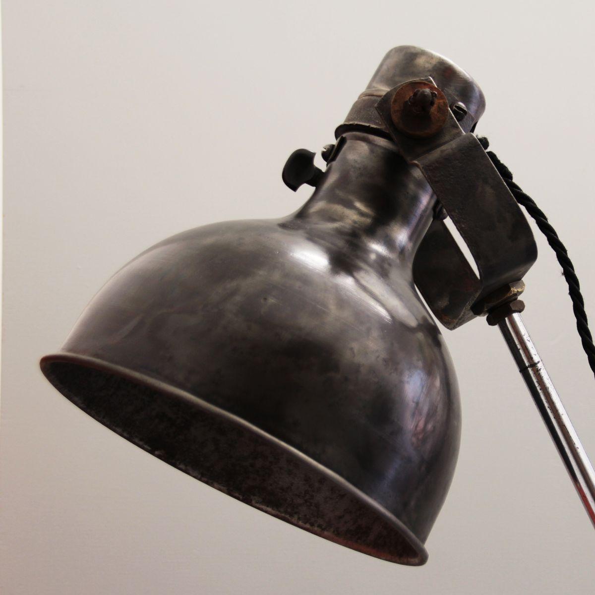 french industrial floor lamp 1920s