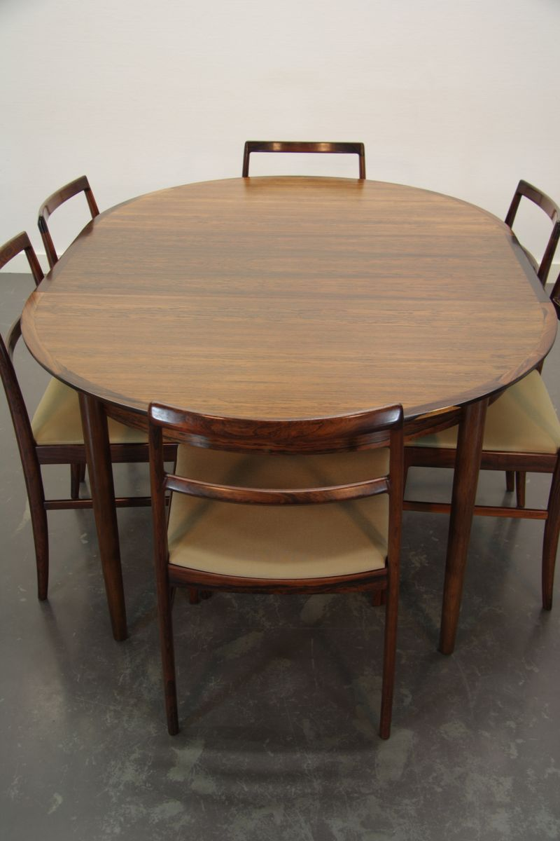 danish dining set by arne vodder for sibast 1960s for sale at pamono