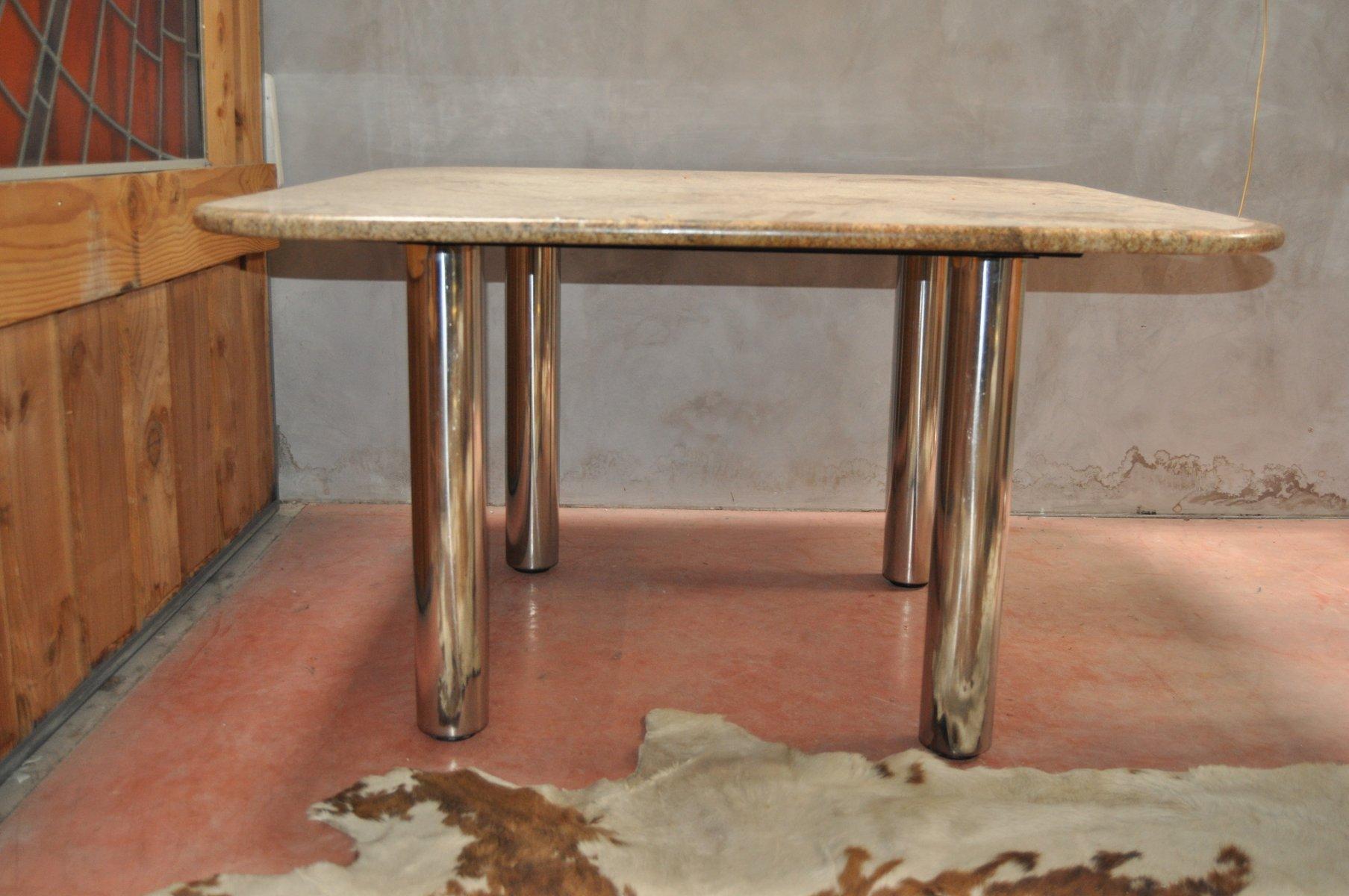 Table de salle manger marcuso vintage en marbre de for Salle a manger antique quebec