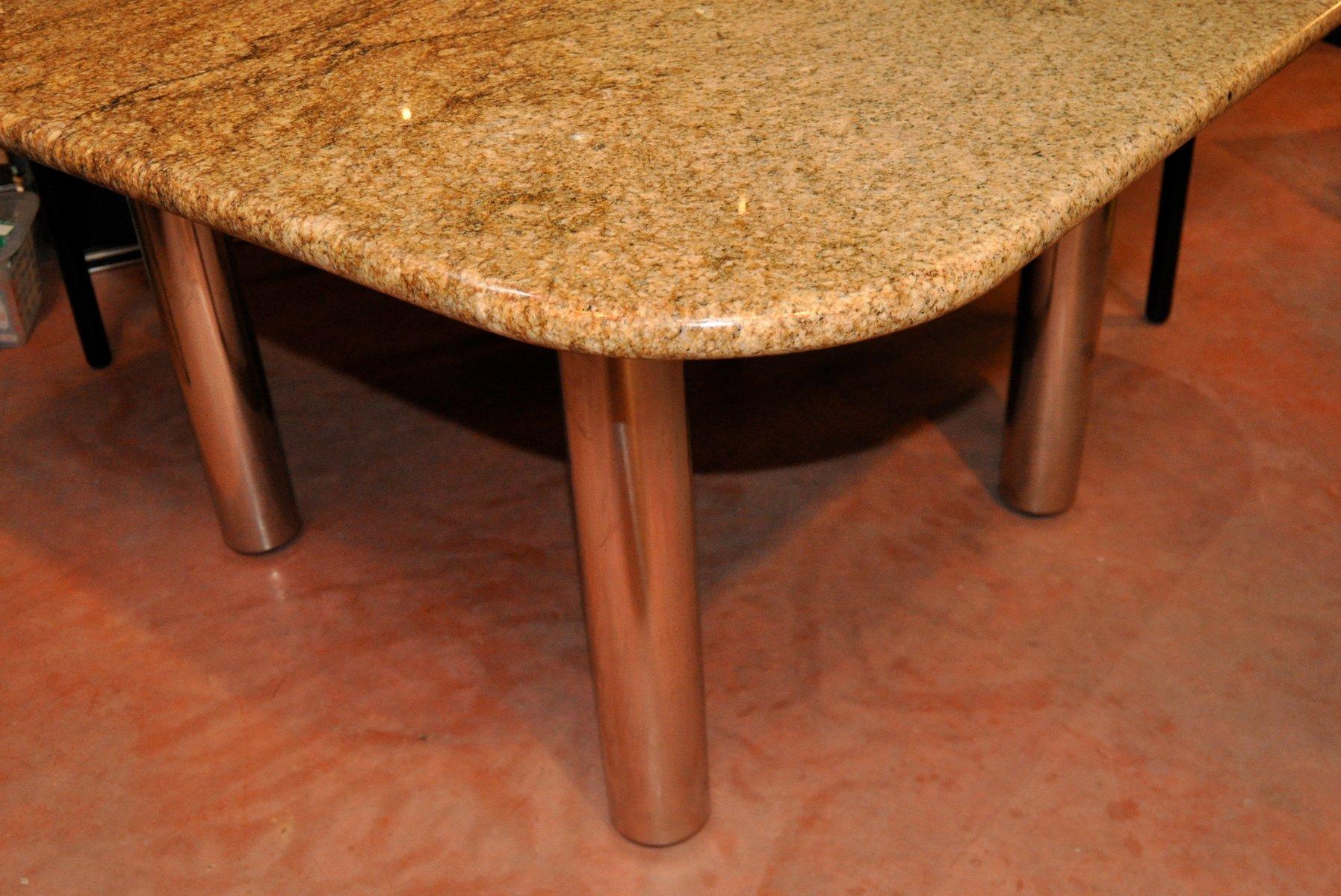 Table De Salle Manger Marcuso Vintage En Marbre De