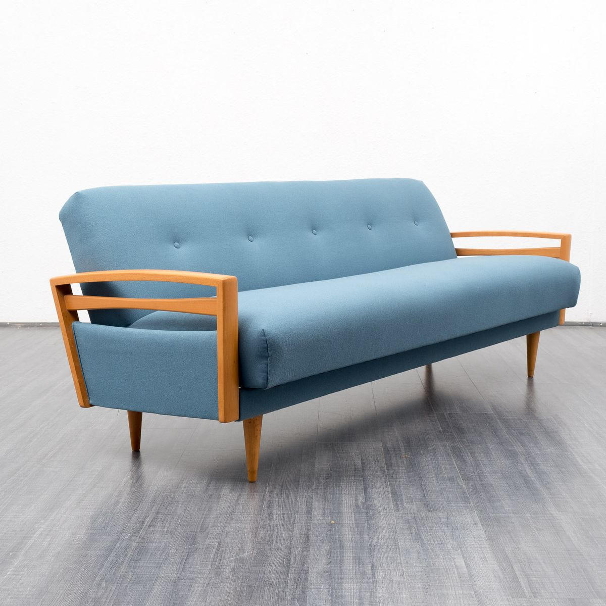 ausklappbares midcentury sofa 1960er bei pamono kaufen. Black Bedroom Furniture Sets. Home Design Ideas