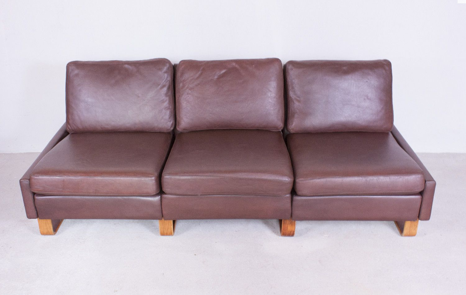 conseta sofa by f w m ller for cor for sale at pamono. Black Bedroom Furniture Sets. Home Design Ideas