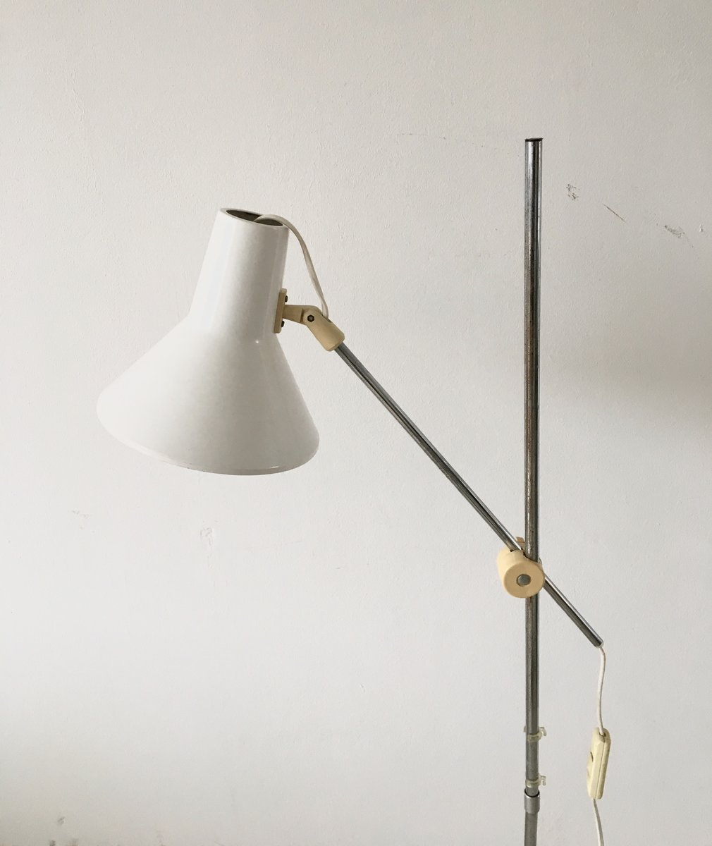 Vintage industrial floor lamp from ikea for sale at pamono for 4 bulb antique floor lamp