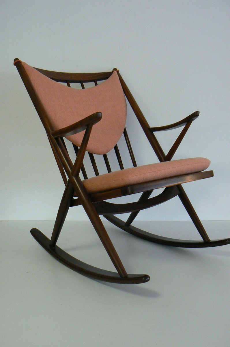 Frank reenskaug rocking chair - 182 Rocking Chair By Frank Reenskaug For Bramin 1958 For Sale At Pamono