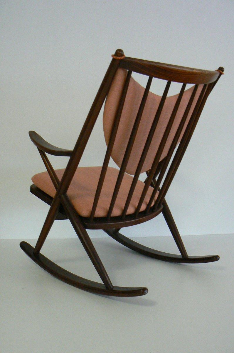 Frank reenskaug rocking chair - 182 Rocking Chair By Frank Reenskaug For Bramin 1958 3 Previous