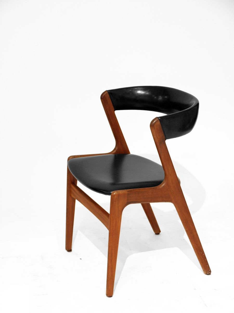 Danish teak dining chair by kai kristiansen for sale at pamono - Kai kristiansen chairs ...