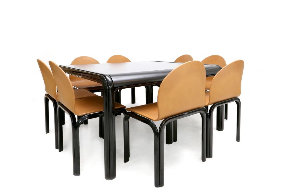dining table by gae aulenti for knoll international for sale at pamono