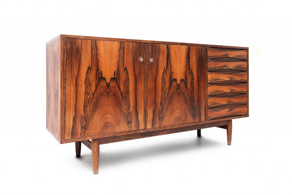 danish rosewood sideboard by arne vodder for sale at pamono. Black Bedroom Furniture Sets. Home Design Ideas