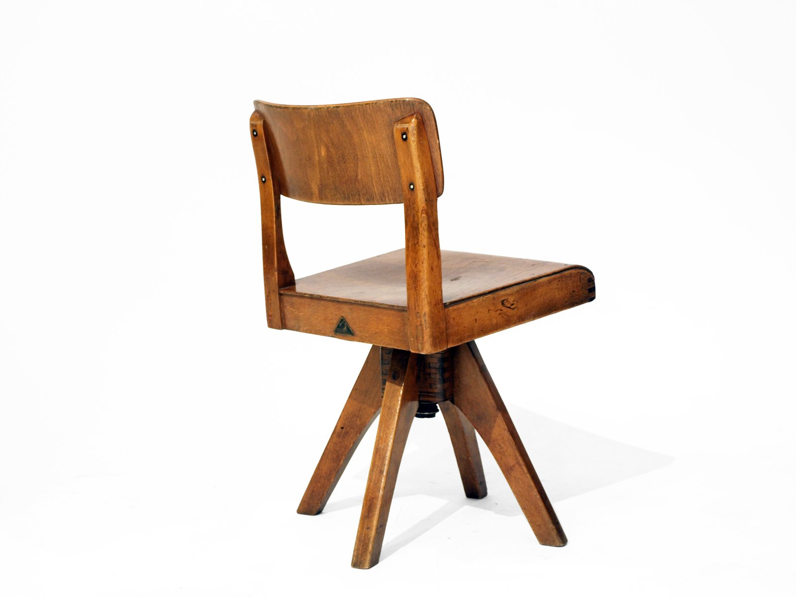 Vintage Wooden Children's Chair by Casala for sale at Pamono