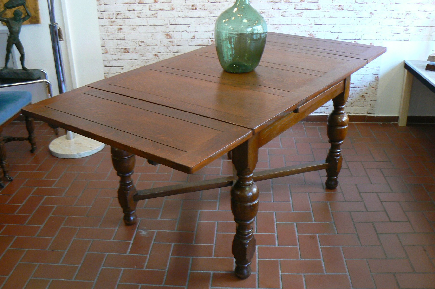 antique german oak dining table for sale at pamono germ