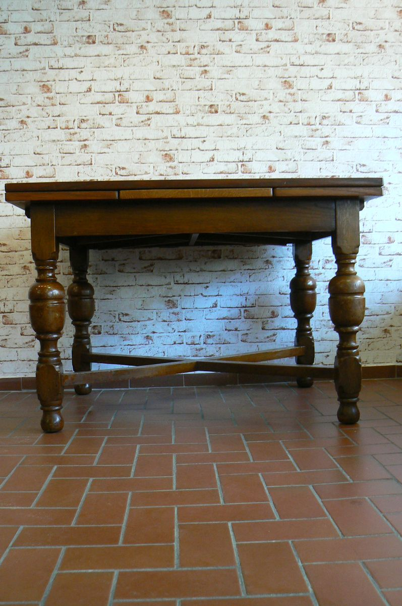 Antique German Oak Dining Table 1910 For Sale At Pamono