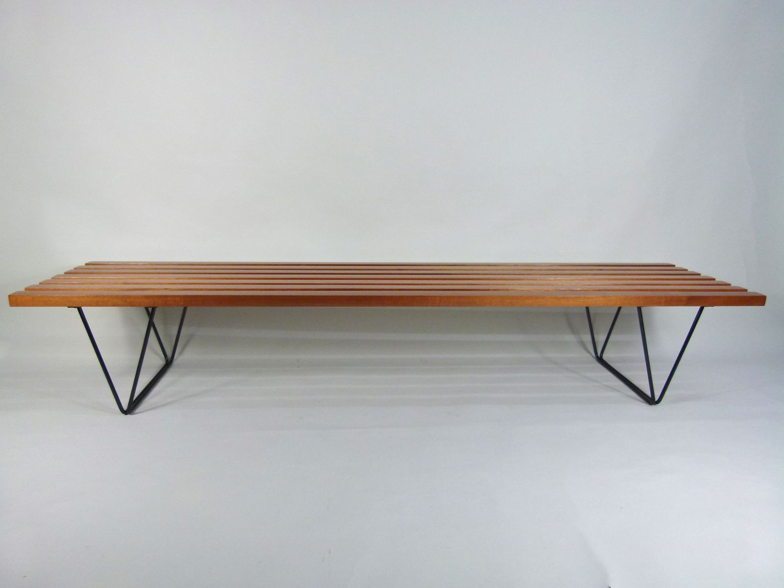 Vintage British Bench By Robin Day For Hille For Sale At Pamono