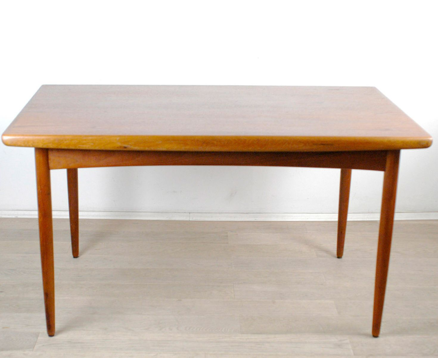 Esstisch Danish Teak ~ Danish Teak Extendable Dining Table from Dyrlund, 1960s for sale at Pamono
