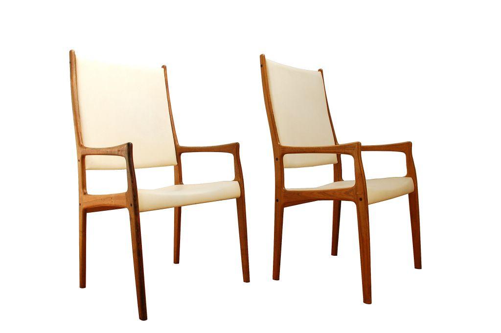d nische st hle mit hoher r ckenlehne aus palisander von mogens kold 2er set bei pamono kaufen. Black Bedroom Furniture Sets. Home Design Ideas