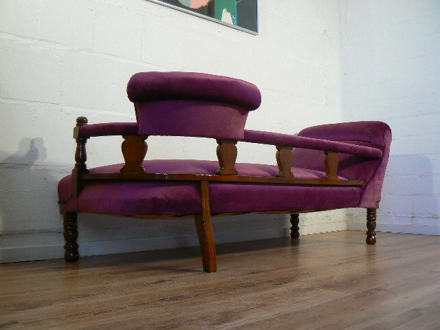 Antique german chaise longue for sale at pamono for Antique chaise longue
