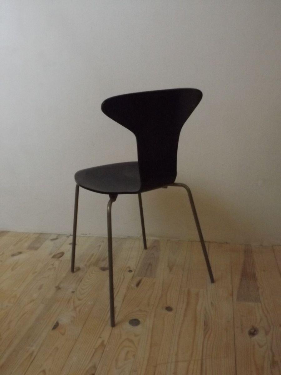 chaise mosquito 3105 par arne jacobsen pour fritz hansen en vente sur pamono. Black Bedroom Furniture Sets. Home Design Ideas