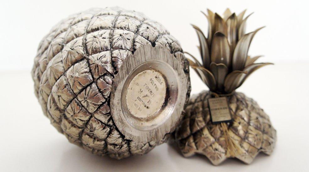seau glace ananas par mauro manetti en vente sur pamono. Black Bedroom Furniture Sets. Home Design Ideas