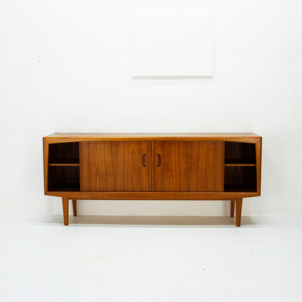 Mid century scandinavian teak sideboard for sale at pamono for Sideboard scandi