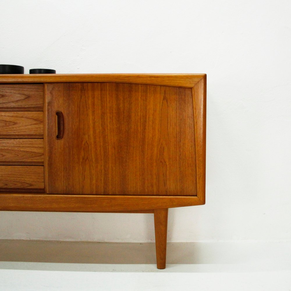 Mid century scandinavian teak sideboard for sale at pamono - Sideboard mid century ...