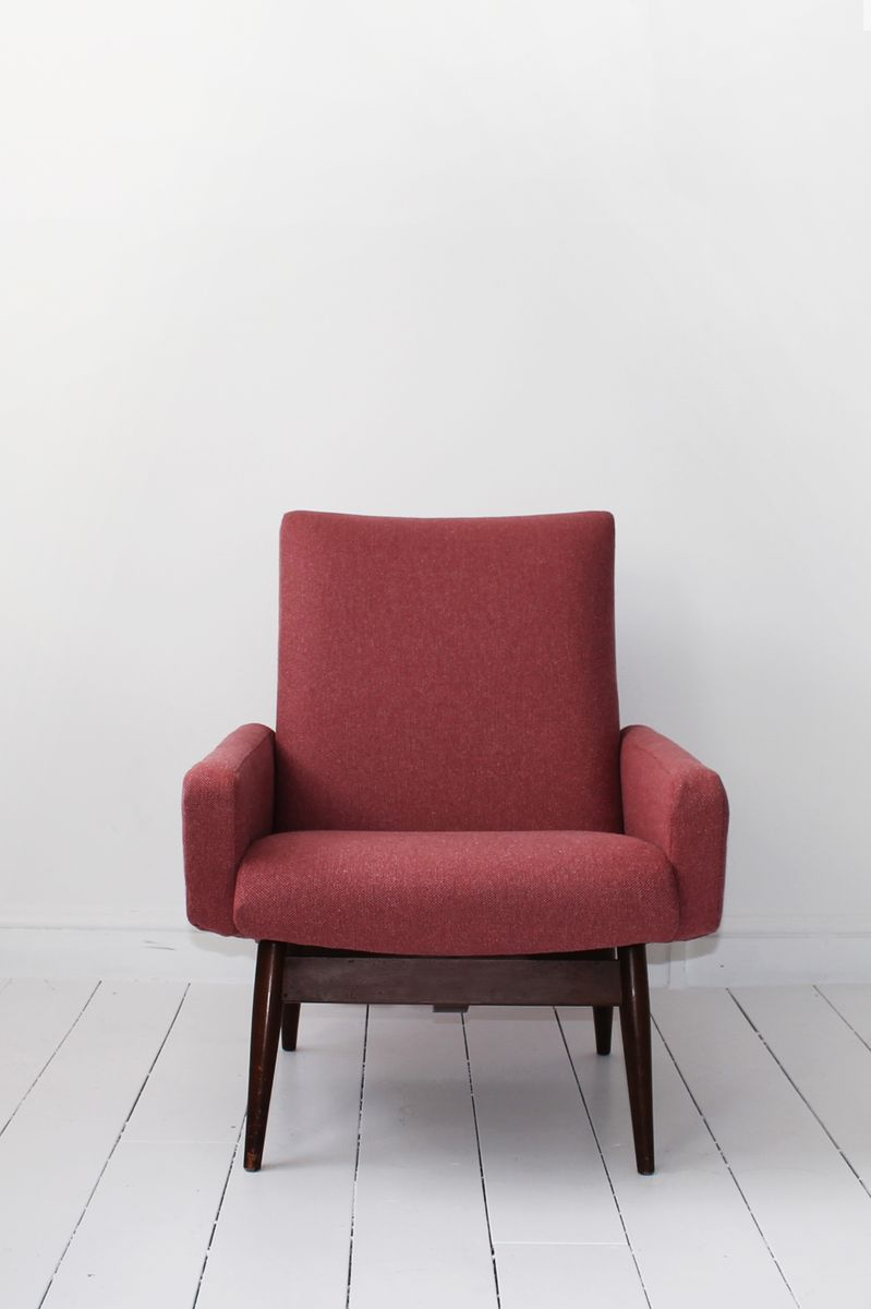 Mid Century Danish Bedroom Chair for sale at Pamono