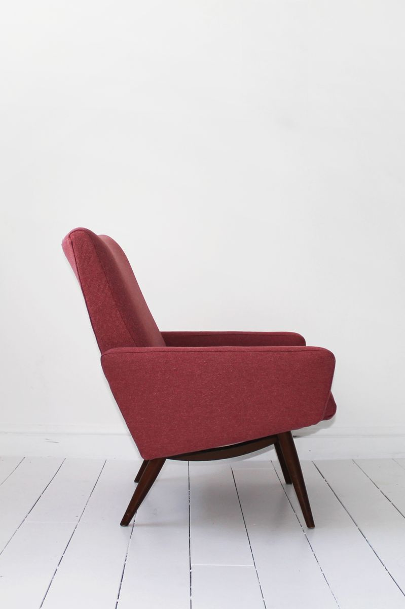 Mid Century Danish Bedroom Chair For Sale At Pamono