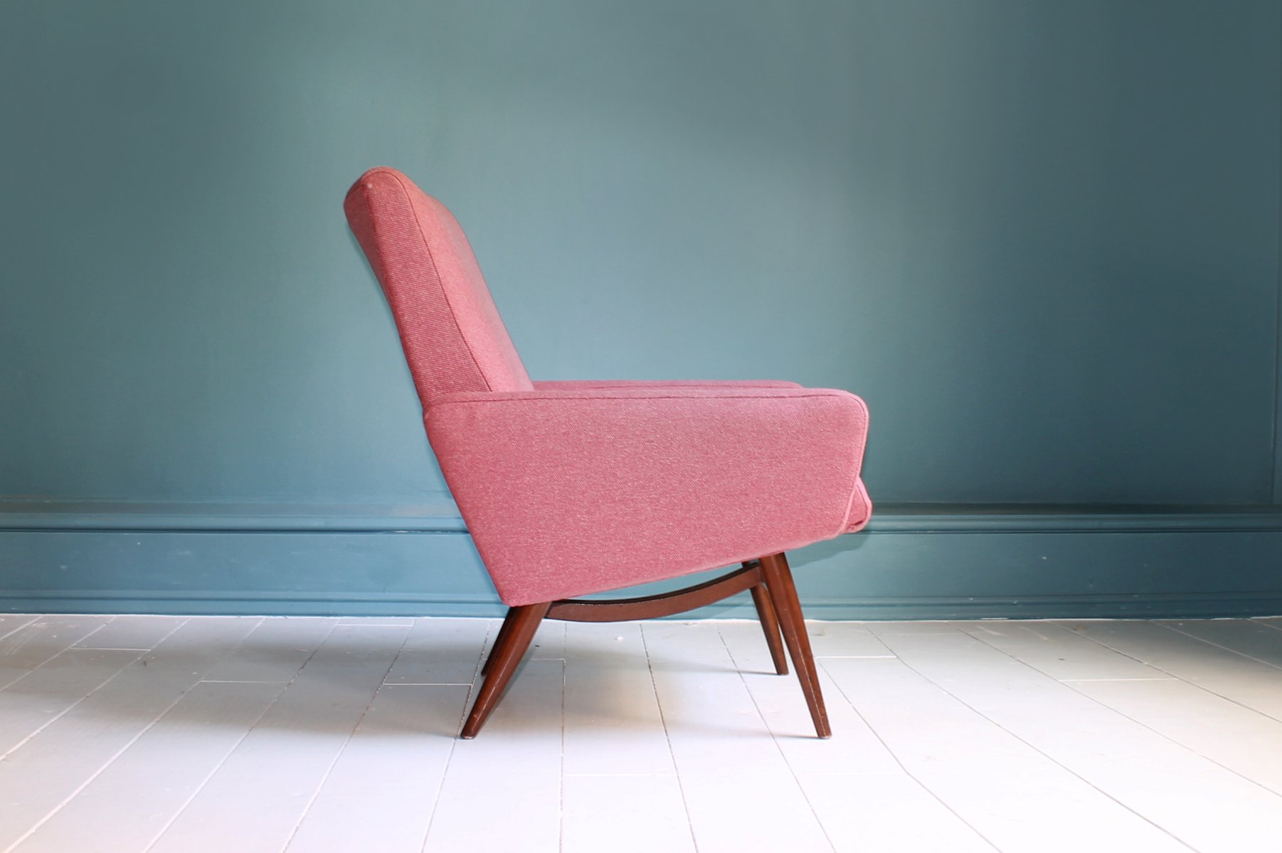 Pink Bedroom Chair Mid Century Danish Bedroom Chair For Sale At Pamono