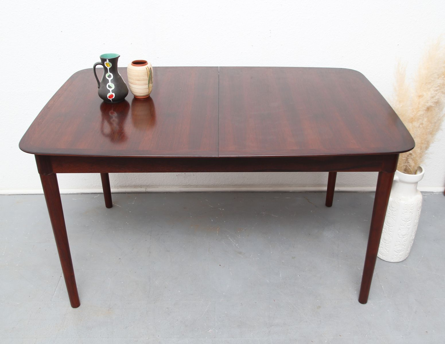 Rosewood Dining Table Vintage Extenable Rosewood Dining Table By L 1 4 Bke For Sale At Pamono