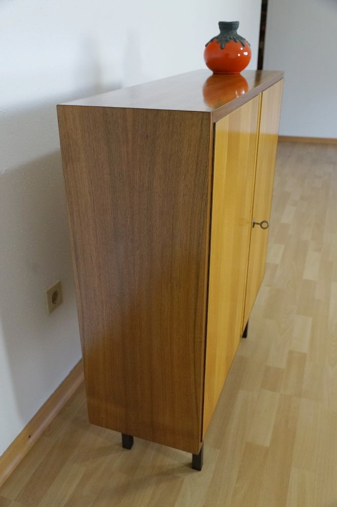 vintage nussholz sideboard von georg satink f r wk m bel 1956 bei pamono kaufen. Black Bedroom Furniture Sets. Home Design Ideas