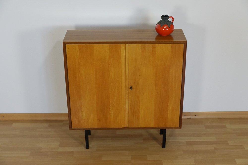 vintage nussholz sideboard von georg satink f r wk m bel. Black Bedroom Furniture Sets. Home Design Ideas