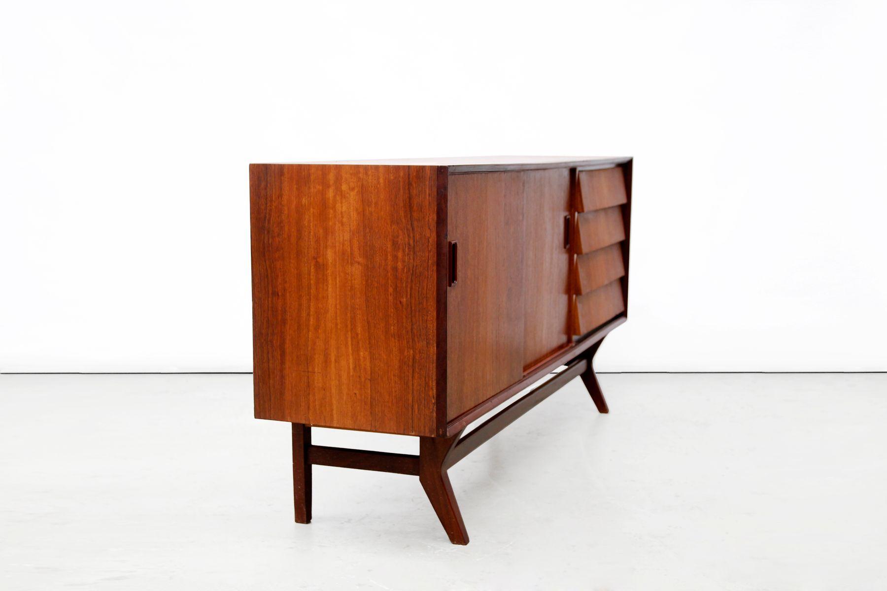 vintage mid century sideboard in brazilian teak wood for. Black Bedroom Furniture Sets. Home Design Ideas