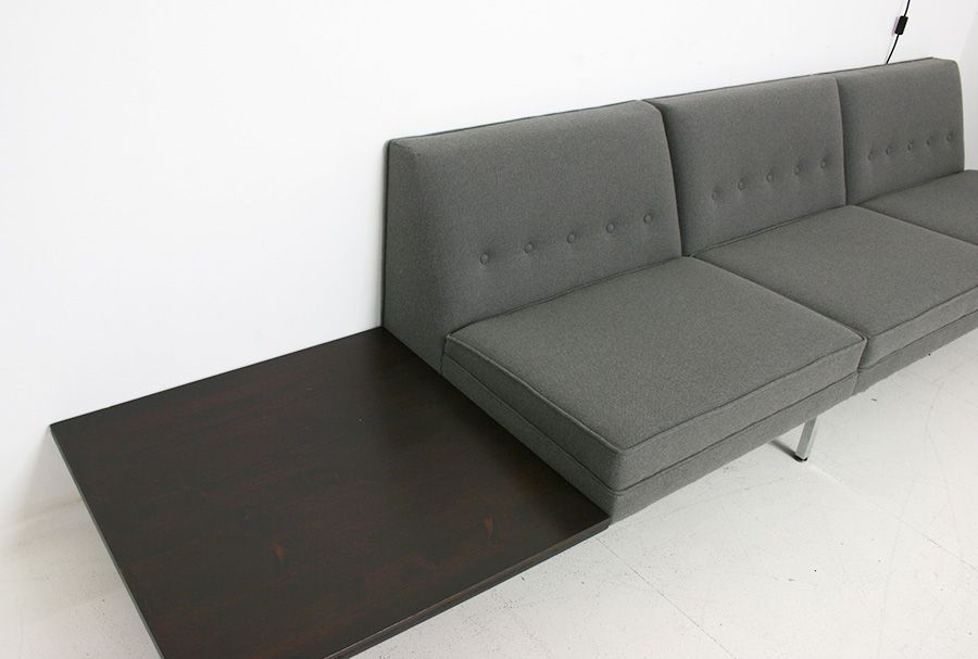 modular sofa by george nelson for herman miller 1956 for sale at pamono. Black Bedroom Furniture Sets. Home Design Ideas