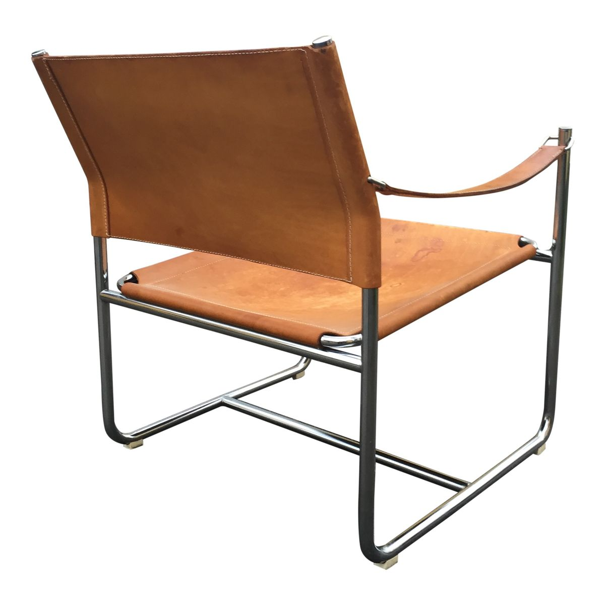 Leather Safari Chair by Karin Mobring for Ikea for sale at