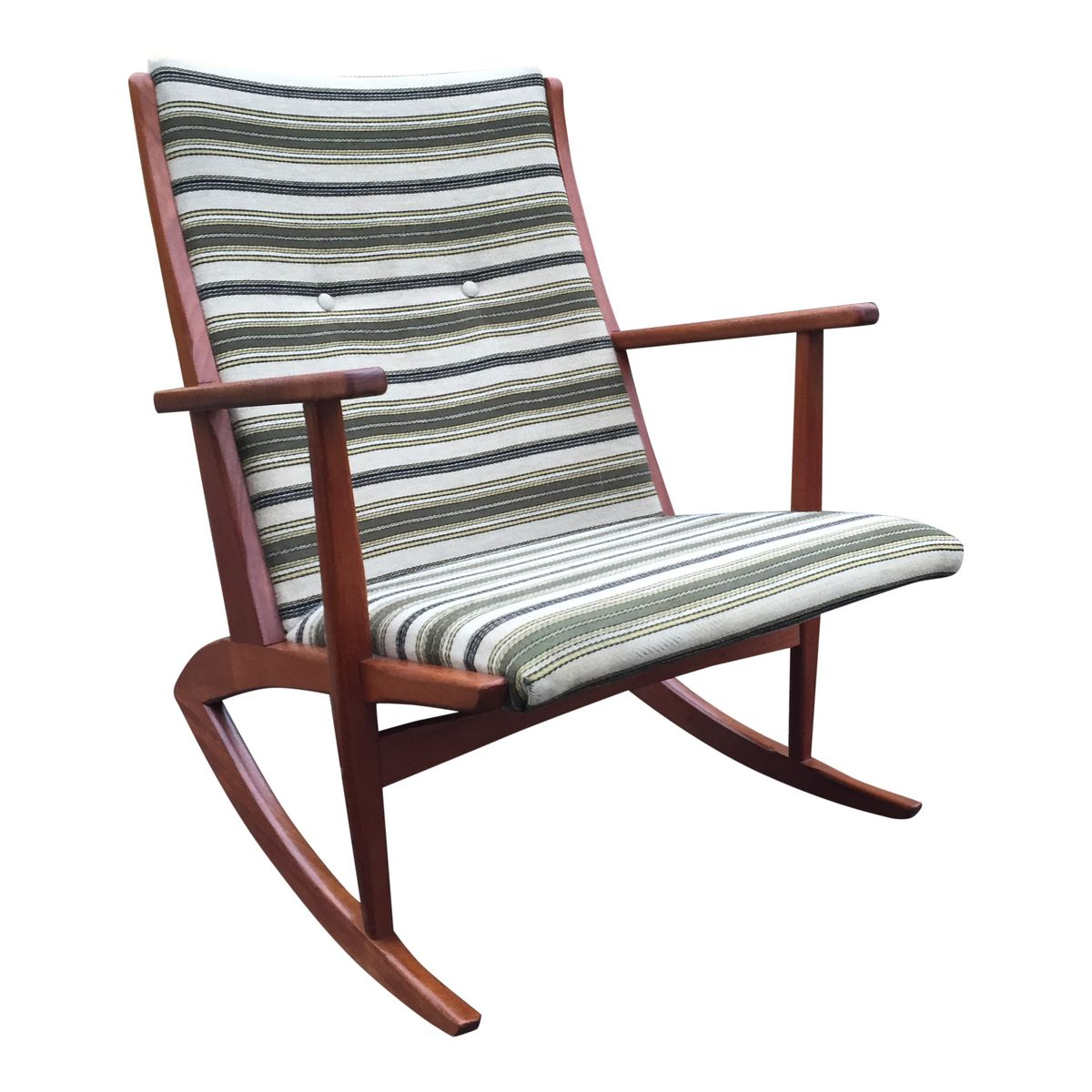 Teak Rocking Chair By Georg Jensen For Tønder Møbelværk For Sale At . Full resolution  img, nominally Width 1200 Height 1200 pixels, img with #683930.