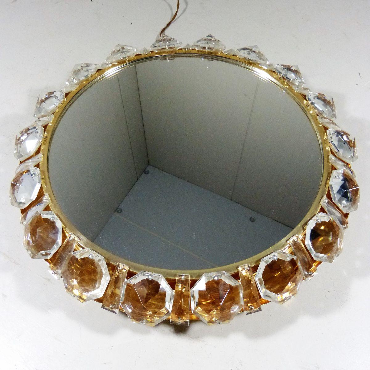 runder beleuchteter spiegel von bakalowits s hne bei. Black Bedroom Furniture Sets. Home Design Ideas