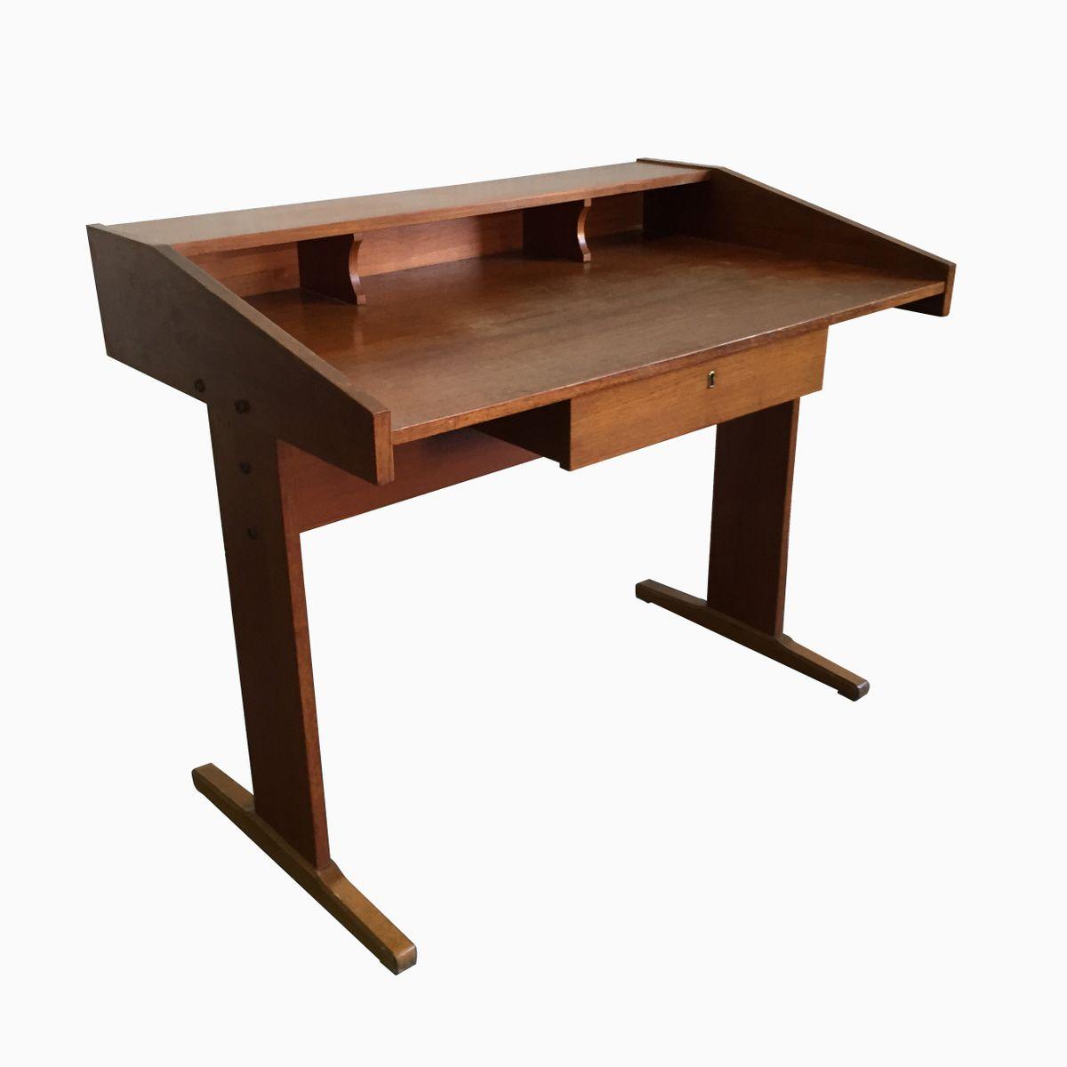 italienischer vintage schreibtisch bei pamono kaufen. Black Bedroom Furniture Sets. Home Design Ideas