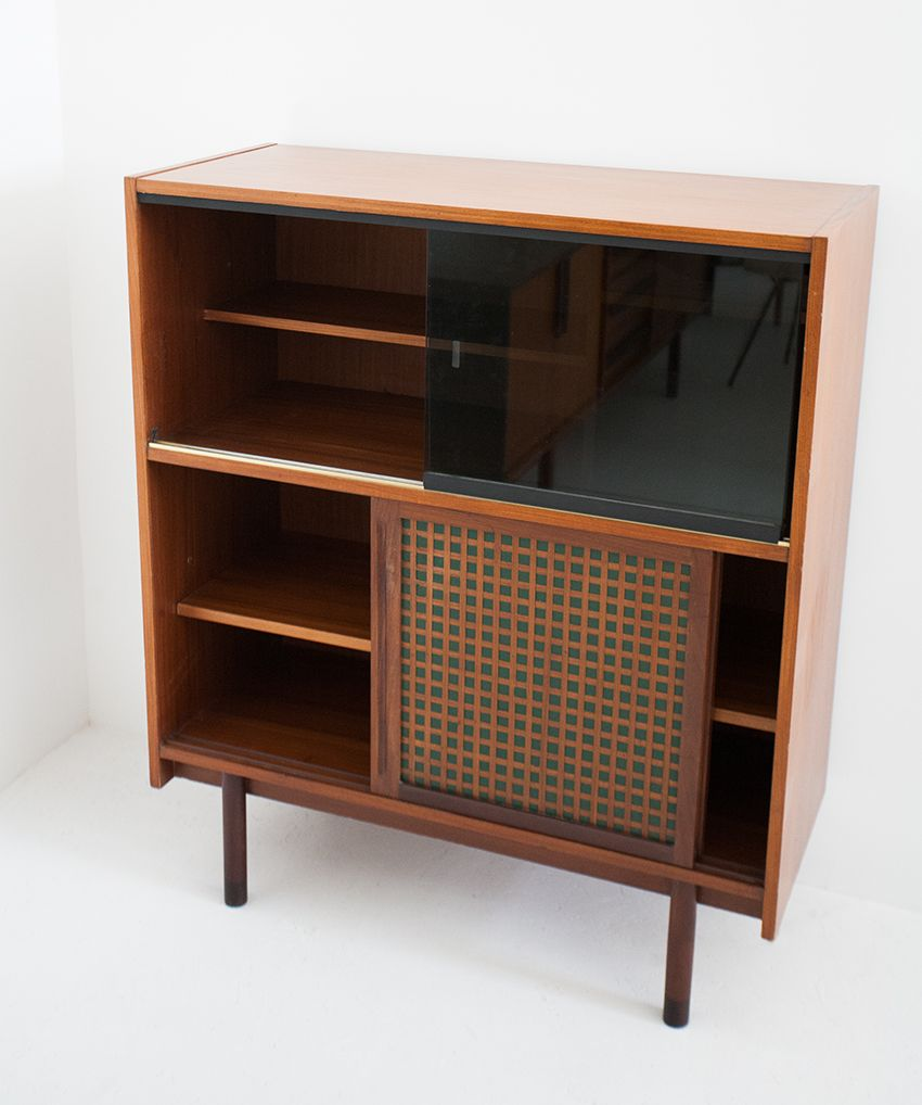 italian mid century modern highboard 1950 for sale at pamono. Black Bedroom Furniture Sets. Home Design Ideas