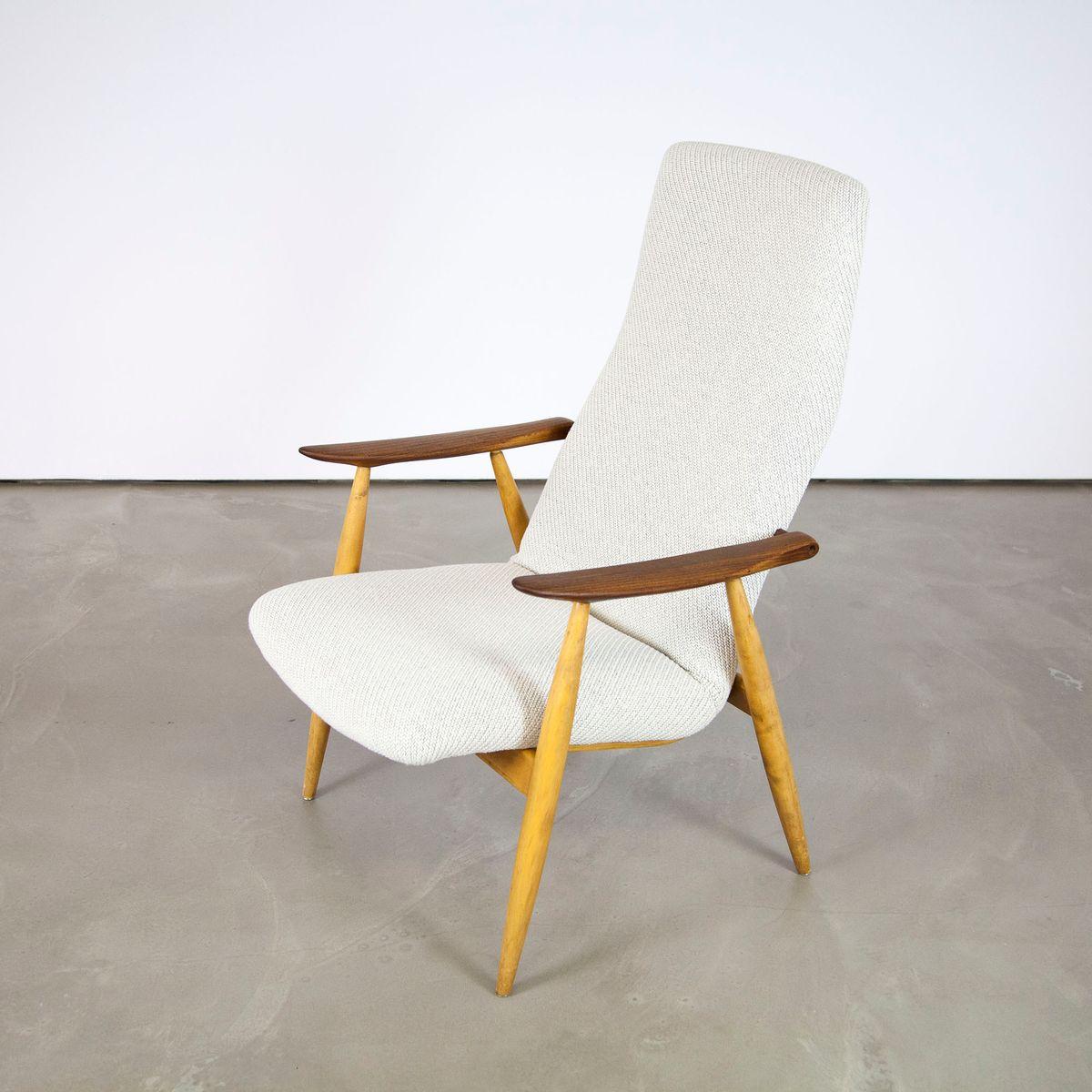 fauteuil haut dossier scandinave par olli borg pour asko en vente sur pamono. Black Bedroom Furniture Sets. Home Design Ideas