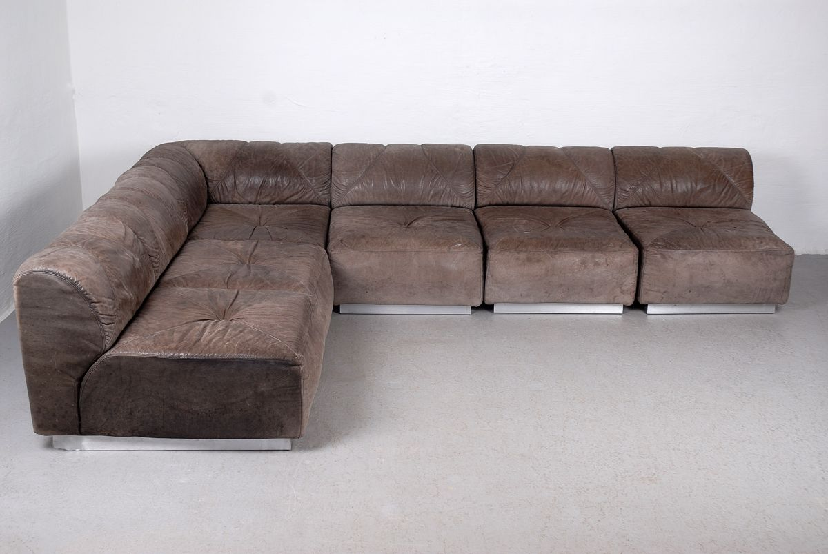modular sofa set from walter knoll for sale at pamono. Black Bedroom Furniture Sets. Home Design Ideas