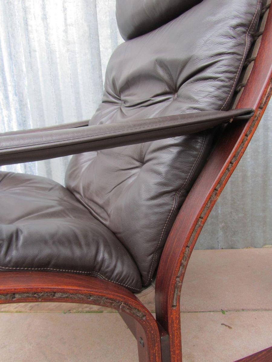 siesta leder lounge sessel von ingmar relling f r westnofa 1964 bei pamono kaufen. Black Bedroom Furniture Sets. Home Design Ideas